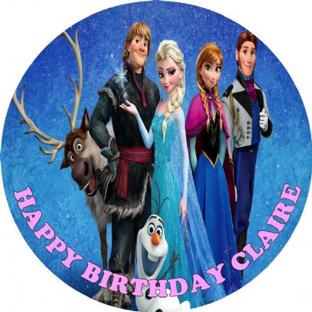 Disney Frozen Edible Cake Topper